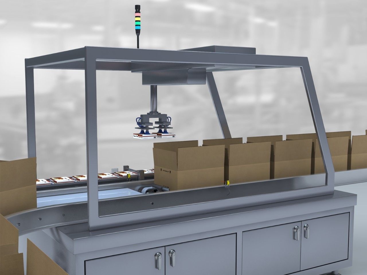 Case Packer for Food Packaging