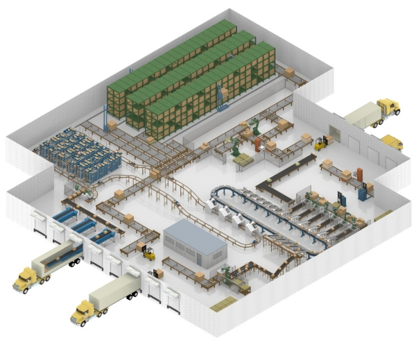 Material-Handling---Warehouse-Distribution-Center