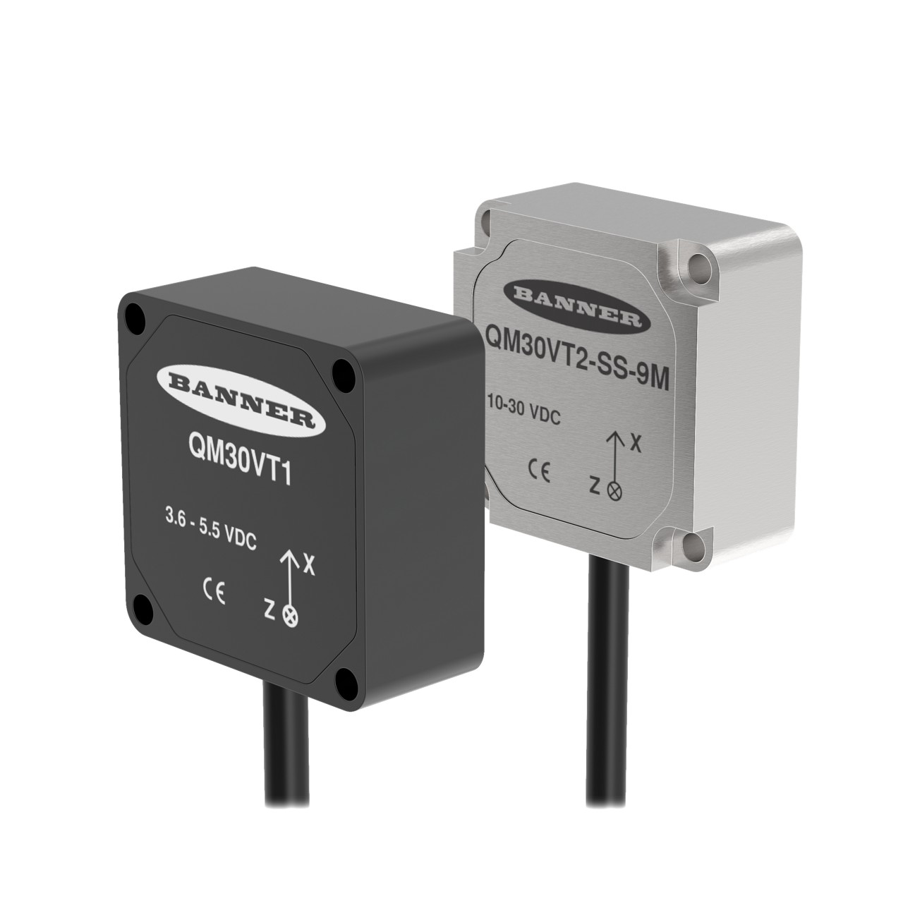 QM30VT Series vibration and temperature sensors