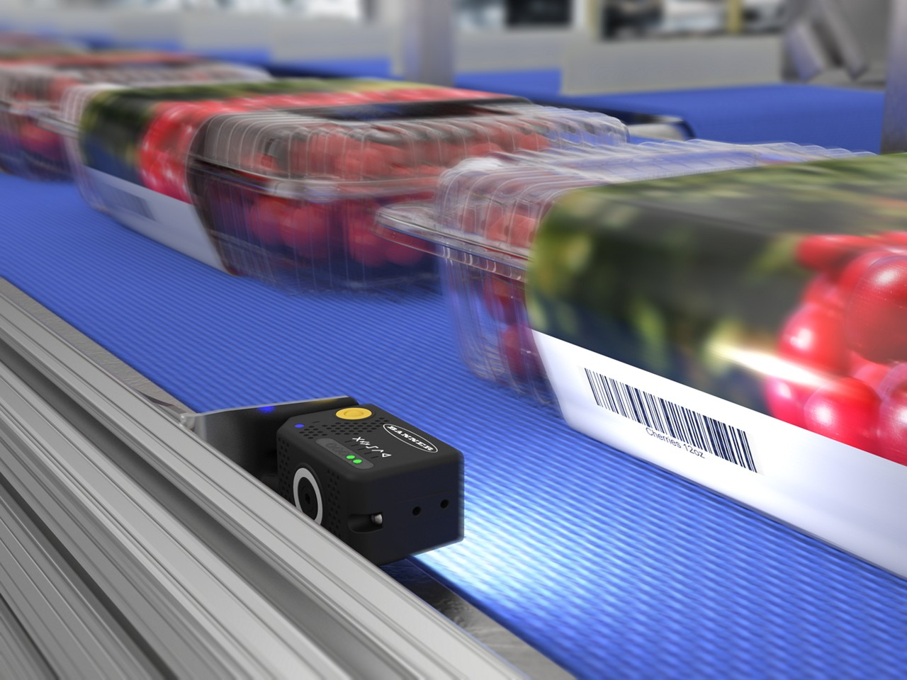 ABR 3000 tracks produce throughout packaging