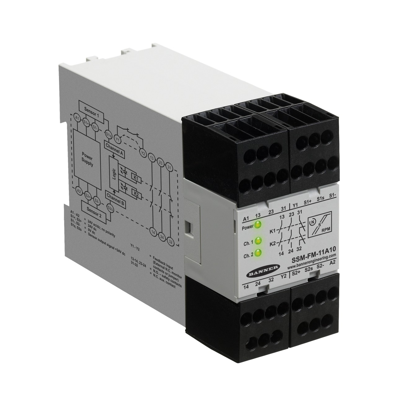 Safe Speed Monitoring Relays