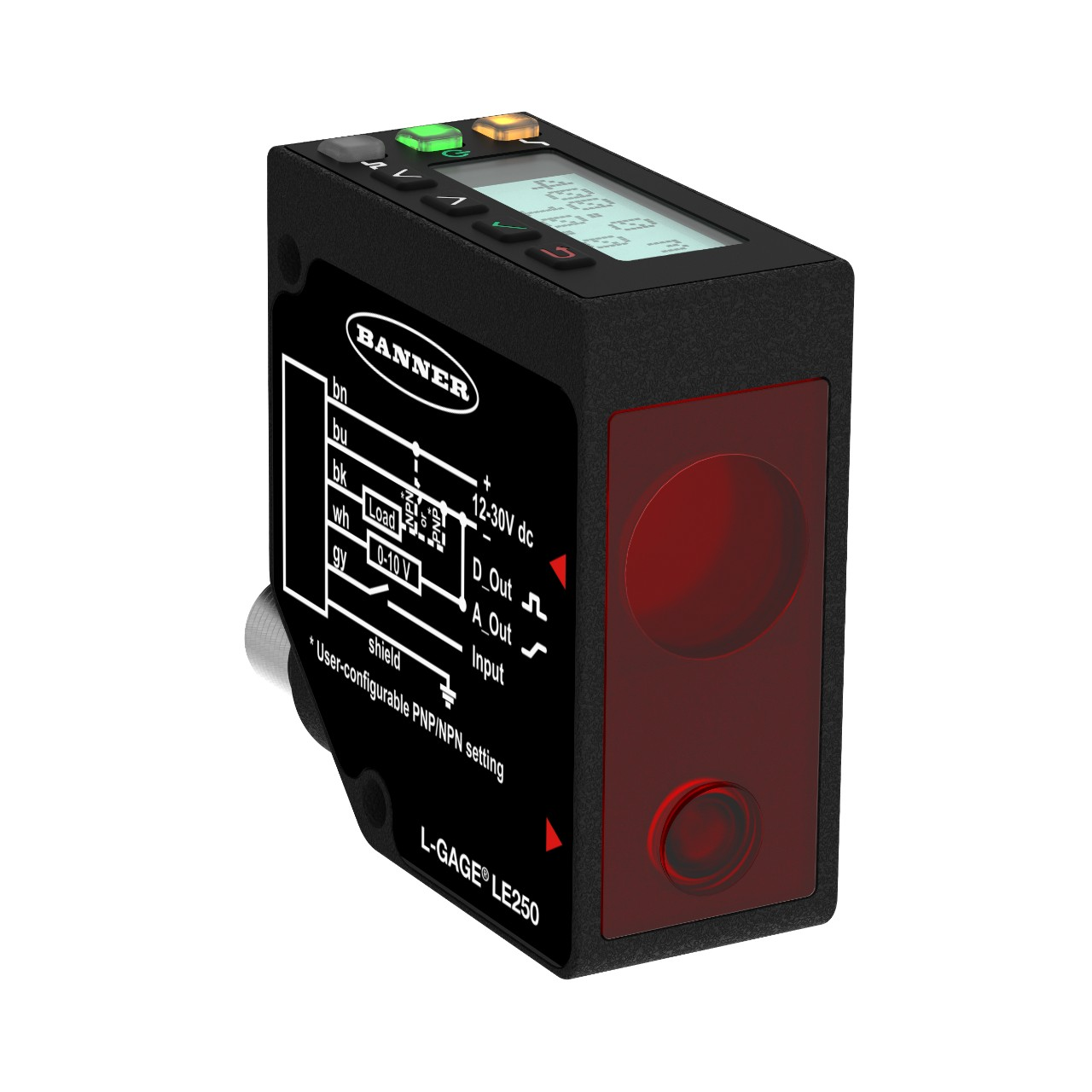 LE laser measurement sensor