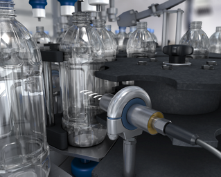 Clear Container Detection in a Clean-in-Place Rotary Filler