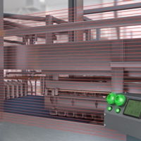 Safety Light Screens Guard Operators from Sweep Bar
