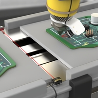Adhesive Detection on PCB Assembly During the Assembly Process