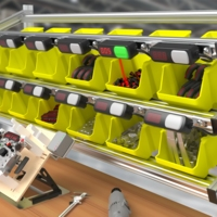 Multiproduct Light-Guided Assembly Station