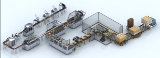 Food Packaging Line Automated Industrial Solutions