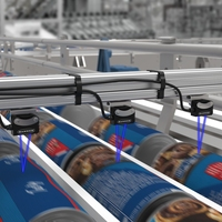 Detecting Refrigerated Breakfast Rolls on a Multi-Lane Conveyor