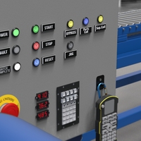 Multicolor Indicators and Illuminated Touch Buttons Simplify Machine Panels