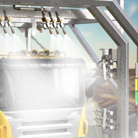 Rugged, Highly Visible Indication Improves Efficiency at a Truck Wash