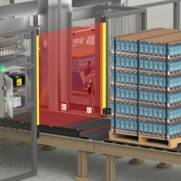 Safeguarding Access Points to a Depalletizer