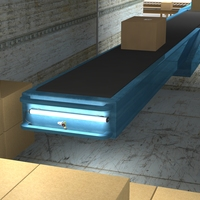 Extendable Reach Conveyor