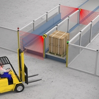 Safeguarding a Pallet Transfer Conveyor