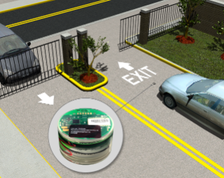 Vehicle Detection at Gated Community Exit