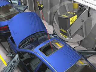 Long-Range Inspection in Automotive Assembly