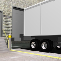 Delivery Truck Detection at an Outdoor Loading Dock