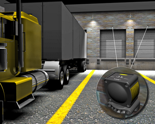 Large Vehicle Detection at an Outdoor Loading Dock
