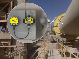 Monitoring Rotating Equipment in Unsafe or Harsh Conditions