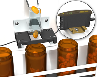 Counting Gel-Caps in Pharmaceutical Bottling Applications