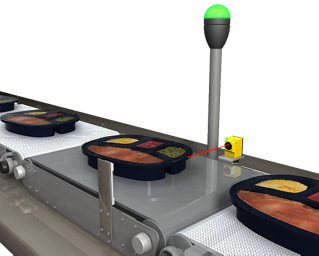 Dark Tray Detection on Checkweigh System