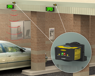 Bank Drive-Thru Automobile Detection