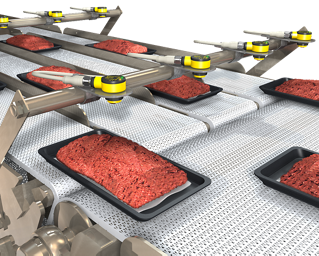 Sensing in Food Packaging and Conveying