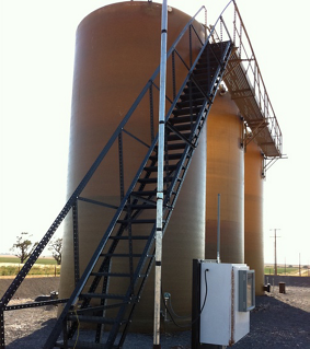 Monitoring Salt Water Disposal Tanks