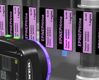 Industrial Bar Code Verification on Clear Labels