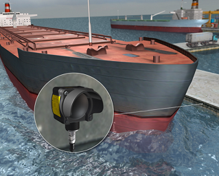 Monitoring Traffic and Collision Avoidance of Ships at a Harbor