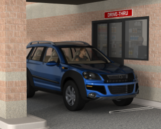 Drive Thru Vehicle Detection and Monitoring