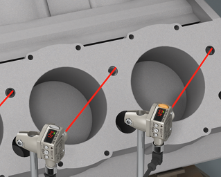 Discrete Laser Measurement Sensor Selection