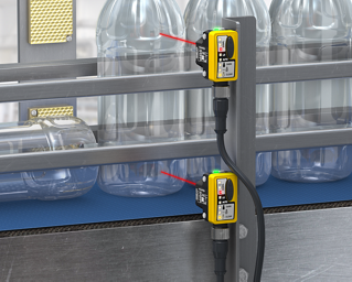 Detecting Tipped-Over Bottles on a High-Speed Bottling Line