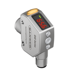 Banner Engineering Q4X Laser Distance Sensor Now Available with Dual Outputs and IO-Link