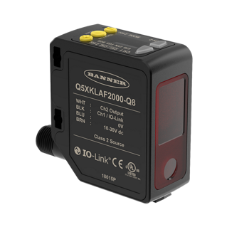 Q5X Series High Power, Mid-Range Laser Sensor