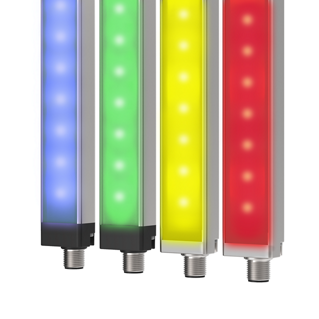Striscia luminosa a LED multicolore WLS28 con EZ-STATUS™