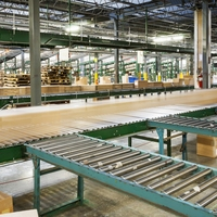Tracking Package Location through Conveyor Roller Gaps