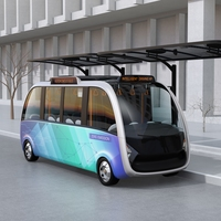Status Indication on Driverless Vehicles [Success Story]
