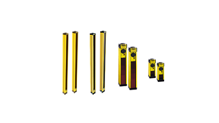 Safety Light Curtain Emitters and Receivers
