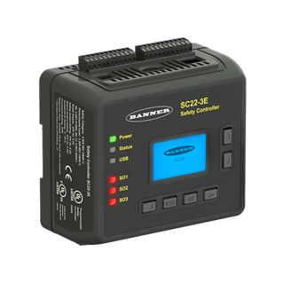 Configurable Safety Controller: SC22 Series
