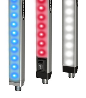 Banner Engineering Dual Color LED Strip Lights Provide Durable and Flexible Performance for Industrial Lighting Applications