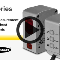 LM Series Precision Laser Measurement Sensor