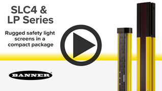 Compact Type 4 Safety Light Curtains