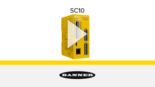 SC10 Series Compact Safety Controller / Relay Hybrid