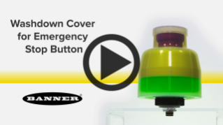 Washdown Cover for Emergency Stop Buttons [Video]