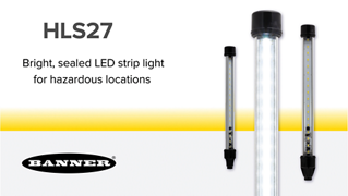 HLS27 LED Strip Light for Hazardous Locations