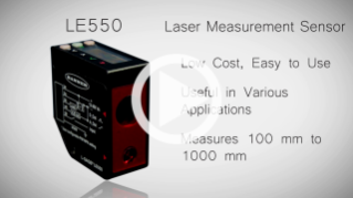 Laser-Messsensor LE550 [Video]