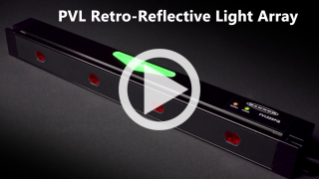 PVL Retroreflective Light Array for Lean Manufacturing