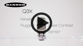 Q3X Versatile, Rugged Laser Contrast Sensor [Video]