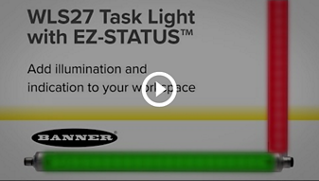 WLS27 Multicolor LED Strip Light with EZ-STATUS [Video]
