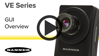 VE Series Smart Cameras - User Interface Overview [Video]